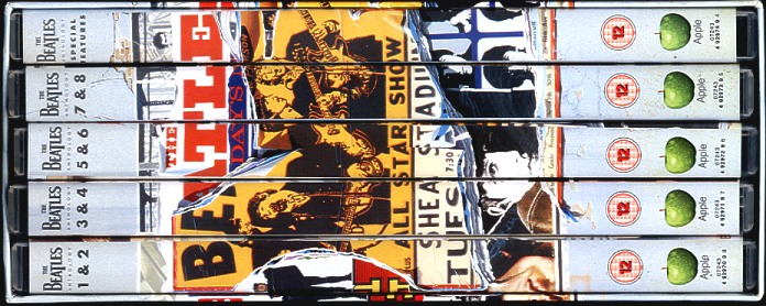 What Are Dts >> The Beatles Anthology Dvd - Contents