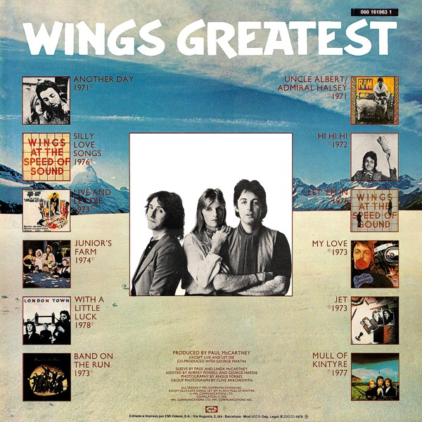 Wings Paul McCartney and Wings Lifeworks 1966-1978 - The Essential Rarities Collection