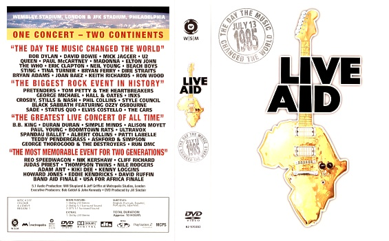 What Are Dts >> Laser Disc Paul McCartney - Dvd - Live Aid