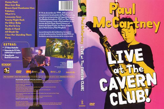 Laser Disc - Dvd Paul McCartney - Live At The Cavern Club ...